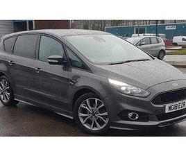 2018 FORD S MAX 2.0 TDCI 180 ST-LINE 5DR