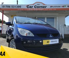 2008 MITSUBISHI COLT CZC2 USED CARS ROCHDALE, GREATER MANCHESTER