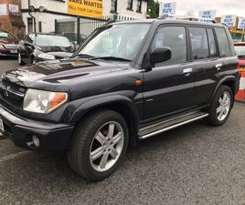 £2,500|MITSUBISHI SHOGUN PININ 2.0 GDI WARRIOR SUV 5DR PETROL AUTOMATIC (237 G/KM, 12