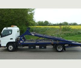 MITSUBISHI CANTER 7C15 RECOVERY TWIN DECK CAR TRANSPORTER LIGHTWEIGHT BODY SUPER WINCH CAL