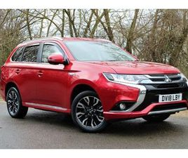 MITSUBISHI OUTLANDER 2.0 PHEV 4H 5DR AUTO | ONE OWNER | FULL MITS SERV HIST | HEATED STEER
