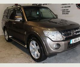 MITSUBISHI SHOGUN 3.2 TD SG4 5DR0% FINANCE OFFER UP TO 4 YEARS