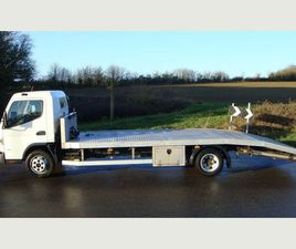 MITSUBISHI CANTER 20FT ALLOY BEAVERTAIL RECOVERY TRUCK 3.04250 KG PAYLOAD ULEZ COMPLIANT