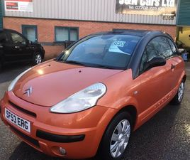 CITROEN C3 PLURIEL 1.4 I 2DR12 MONTH MOT-PX TO CLEAR