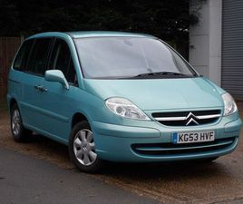 CITROEN C8 2.2 HDI 16V SX 5DRONE LADY OWNER. 34000 MILES