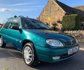 CITROEN SAXO 1.1 I DESIRE 3DR1 OWNER FROM NEW
