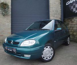 CITROEN SAXO 1.1 I DESIRE 3DRFSH|31500 MILES !!|A ONE OFF!!