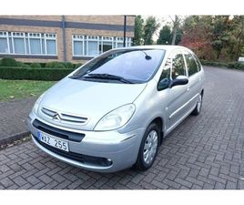 2004 CITROEN XSARA PICASSO 1.8I 16V EXCLUSIVE LEFT HAND DRIVE LHD SWEDISH REG