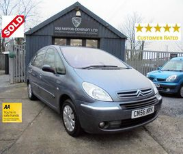 CITROEN XSARA PICASSO 1.6 HDI EXCLUSIVE 5DRONLY 33,400 MILES!FULL HISTORY