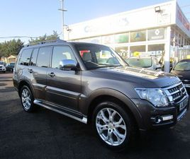 MITSUBISHI SHOGUN 3.2 DI-DC SG5 AUTO 4WD 5DR LWBONE OWNER CAR WITH S/HISTORY.