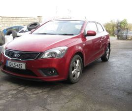 KIA CEED PRO 1.6 TX 2DR FOR SALE IN WEXFORD FOR €5,950 ON DONEDEAL