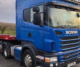 2013 SCANIA R440 6X2 TAG AXLE FOR SALE IN TYRONE FOR € ON DONEDEAL