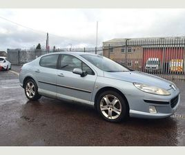 PEUGEOT 407 2.0 HDI X-LINE 4DRPART EXCHANGE TO CLEAR