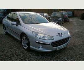 PEUGEOT 407 2.0 SE 4DRTRADE IN TO CLEAR