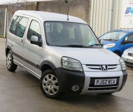 PEUGEOT PARTNER 2.0 HDI ESCAPADE 5DR2OWNERS JUST SERVICED LONG MOT