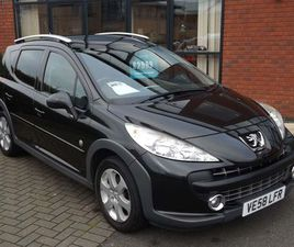 PEUGEOT 207 SW 1.6 HDI OUTDOOR 5DRSERVICE HISTORY+12 MONTHS MOT