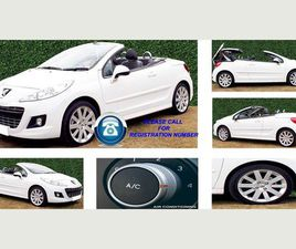 PEUGEOT 207 CC 1.6 HDI FAP GT 2DR4 SEAT CONVERTIBLE IN WHITE