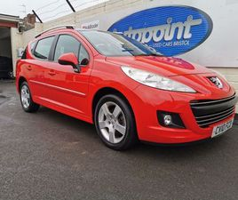 PEUGEOT 207 SW 1.6 HDI SPORT 5DRONLY 27,000 MILES FROM NEW