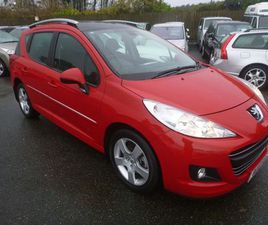PEUGEOT 207 SW 1.6 VTI SPORT 5DR38000 MILES ONLY::AUTOMATIC