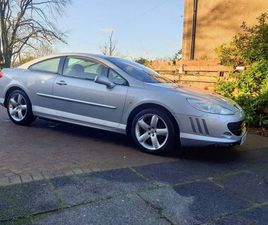 PEUGEOT 407 2.7 HDI V6 SPORT 2DRDUE IN THIS WEEK
