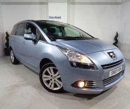 PEUGEOT 5008 1.6 HDI FAP EXCLUSIVE 5DRPAN ROOF +LEATHER +7 SEATS