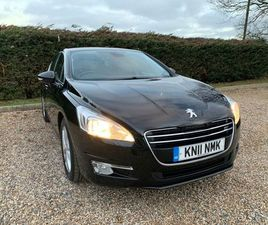 PEUGEOT 508 1.6 E-HDI ACTIVE EGC 4DRFSH 10 STAMPS £30 ROAD TAX