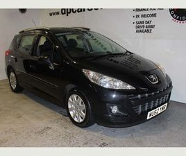 PEUGEOT 207 SW 1.6 HDI ACTIVE 5DR0% FINANCE OFFER UP TO 4 YEARS