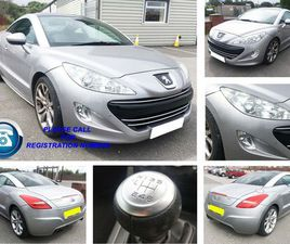 PEUGEOT RCZ 1.6 THP GT 2DRLEATHER + CLIMATE + ALLOYS+AC