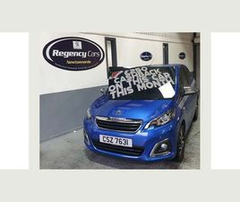PEUGEOT 108 1.0 COLLECTION 5DRONLY 1777 MILES!!