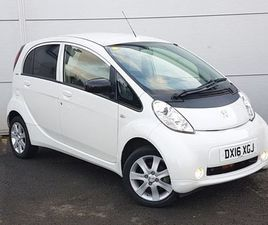 2016 PEUGEOT ION 47KW 16KWH 5DR AUTO