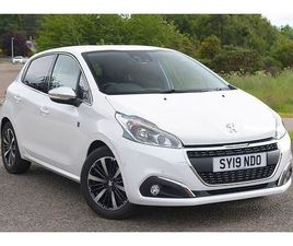 2019 PEUGEOT 208 1.5 BLUEHDI TECH EDITION 5DR [5 SPEED]