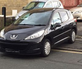 PEUGEOT 207 SW 1.6 HDI S 5DR (A/C)£30 ROAD TAX