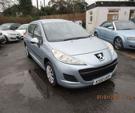 PEUGEOT 207 SW 1.6 HDI S 5DR (A/C)FULL SERVICE HISTORY