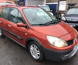 £1,490|RENAULT SCENIC 1.5 DCI CONQUEST MPV 5DR DIESEL MANUAL (138 G/KM, 106 BHP)