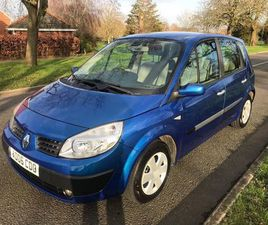 RENAULT SCENIC 1.6 VVT OASIS 5DRFULL MOT GIVEN A/CON PAN ROOF
