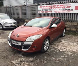 RENAULT MEGANE 1.6 VVT I-MUSIC COUPE 3DR PETROL MANUAL (163 G/KM, 110 BHP)A LOVELY LOOKING