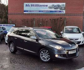 RENAULT MEGANE 1.9 DCI FAP GT LINE TOMTOM 5DR (TOM TOM)HIGH SPECIFICATION!!