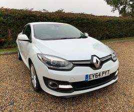RENAULT MEGANE 1.5 DCI ENERGY DYNAMIQUE TOM TOM (S/S) 3DRFSH ZERO ROAD TAX IMMACULATE