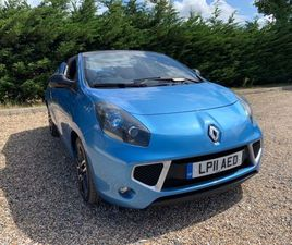 RENAULT WIND 1.6 VVT GT LINE 2DRFSH 7 STAMPS GREAT SUMMER CAR