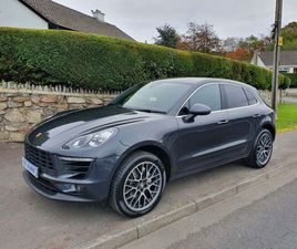 PORSCHE MACAN 3.0 TD V6 S PDK 4WD (S/S) 5DR20 SPYDER ALLOYS+PRIVACY PACK