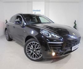 PORSCHE MACAN 3.0 TD V6 S PDK 4WD (S/S) 5DRFULL SERVICE HISTORY