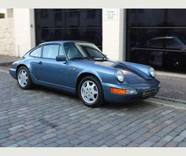 PORSCHE 911 3.6 964 CARRERA 2 2DRVERY LOW MILES AND OWNERS