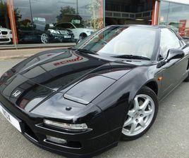 2000 HONDA NSX V6 TARGA + PORTFOLIO HONDA SERVICE HISTORY + 1 LOCAL OWNER + CRUISE CONTROL