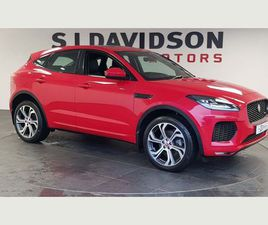 JAGUAR E-PACE 2.0D FIRST EDITION AUTO AWD (S/S) 5DRRANGE TOPPING FIRST EDITION