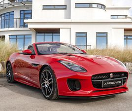 2019 JAGUAR F-TYPE F-TYPE CONVERTIBLE SPECIAL EDITIONS CHEQUERED FLAG