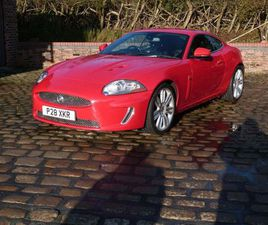 JAGUAR XKR 5.0 SUPERCHARGED 2DRNOTHING COMPARES AT THIS PRICE