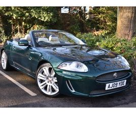 2009 JAGUAR XKR XKR 5.0 SUPERCHARGED+THE BEST COLOUR COMBINATION