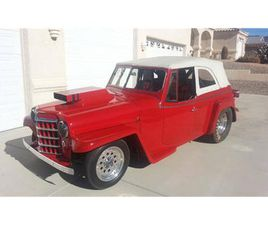 FOR SALE: 1950 WILLYS JEEPSTER IN CADILLAC, MICHIGAN