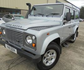 2011 LAND ROVER DEFENDER 2.4 110 TD COUNTY STATION WAGON 5D 121 BHP
