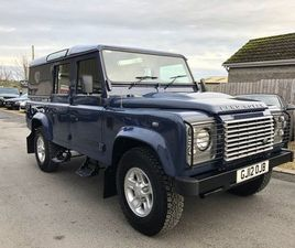 2012 LAND ROVER DEFENDER 2.2 TD COUNTY UTILITY WAGON 1D 122 BHP